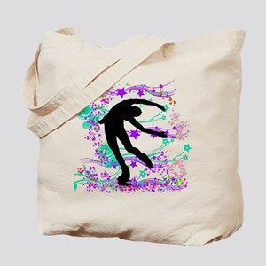 Figure Skater Spin Tote Bag
